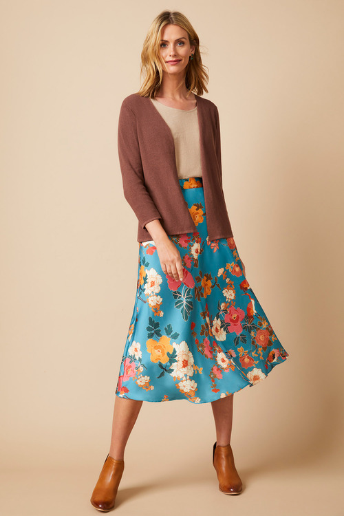 Capture Panel Midi Skirt