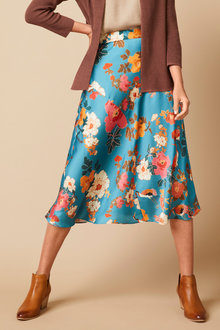 Capture Panel Midi Skirt - 271134