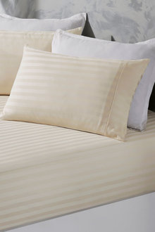 Royal Comfort Damask Stripe Cotton Blend 3-Piece Sheet Set - 271286