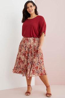 Sara Pleated Skirt - 271291
