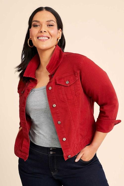Sara Short Denim Jacket