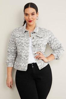 Sara Short Denim Jacket - 271292