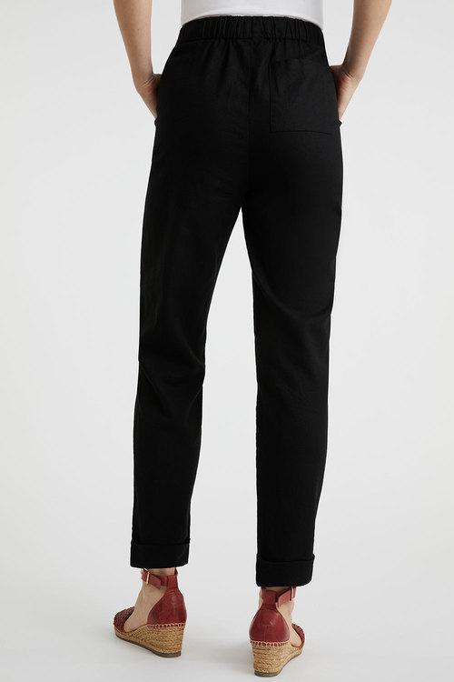 Capture Linen Blend Cuffed Pant