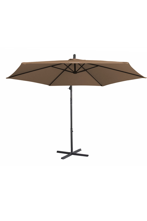 Milano Outdoor 3 Meter Hanging and Folding Umbrella