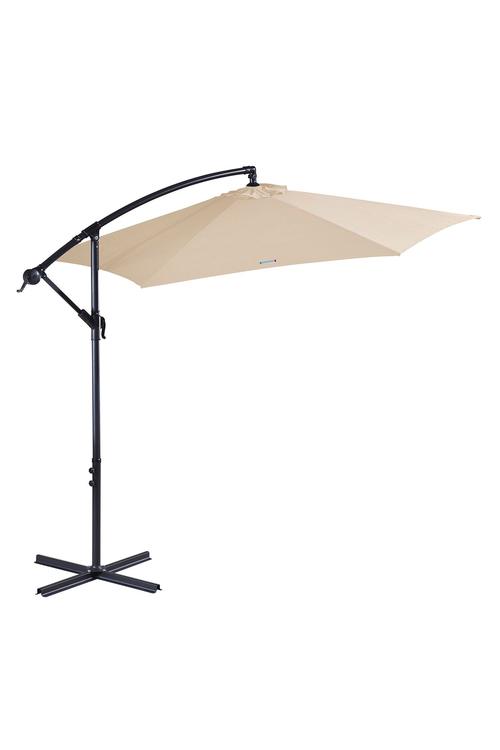 Milano Outdoor 3 Metre Cantilever Umbrella