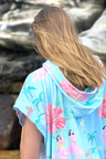 Bluesalt Beachwear Towelling Poncho