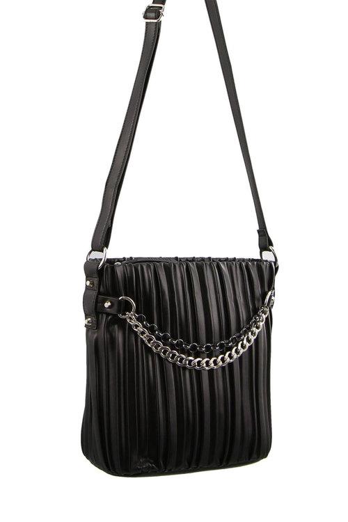 Milleni Cross-Body Bag W/ Front Chain