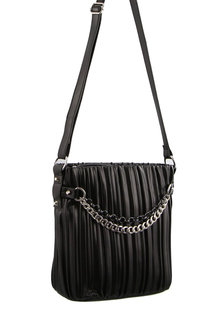 Milleni Cross-Body Bag W/ Front Chain - 271354