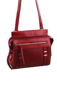 Milleni Perforated Fashion X-Body Bag - 271358