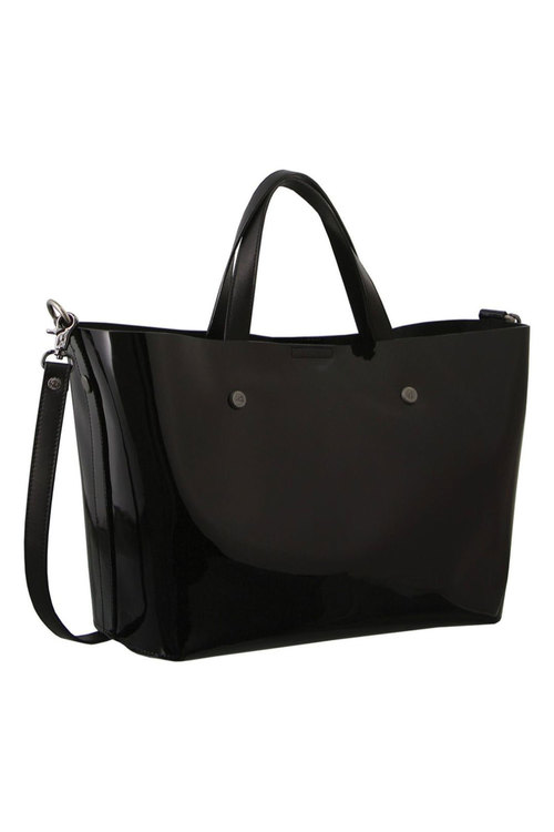Morrissey Patent Leather Tote Handbag