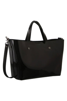 Morrissey Patent Leather Tote Handbag - 271370