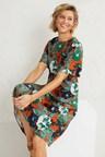 Capture Flutter Sleeve Midi Dress