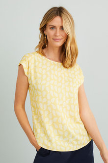 Capture Printed Shell Top - 271463