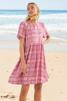 Emerge Gathered Waist Dress - 271513