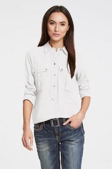 Heine Half Placket Shirt - 271571