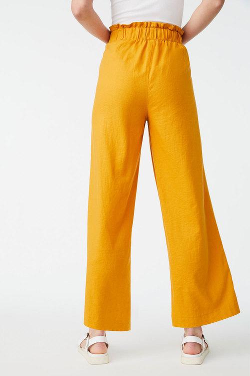 Emerge Linen Blend Wide Leg Pant