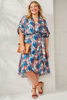 Sara Wrap Dress - 271649
