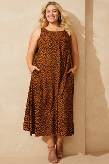 Sara Godet Maxi Dress - 271654