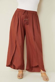 Sara Wide Leg Drape Pant - 271657