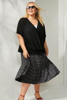 Sara Tiered Skirt - 271659