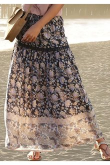 Urban Tiered Maxi Skirt - 271687