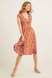 Capture Wrap Dress - 271703