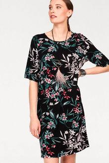Urban Printed Shift Dress - 271806