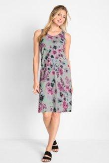 Urban Round Neck Dress - 271812