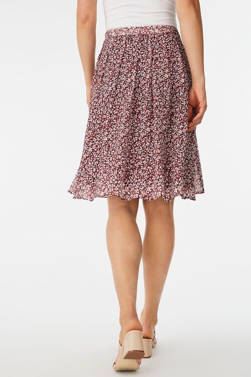 Capture Chiffon Pull on Skirt