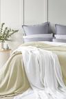 Ramesses Knit Wave 100% Egyptian Cotton Cellular Blanket