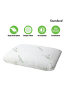 Ramesses Cooling Bamboo Memory Foam Standard Pillow Twin Pack