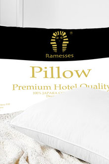 Ramesses Premium Egyptian Cotton Firm Pillow Four Pack - 272073