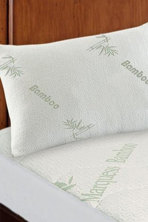 Ramesses Hypoallergenic Bamboo Pillow Protector Twin Pack