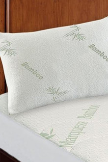 Ramesses Hypoallergenic Bamboo Pillow Protector Twin Pack - 272082