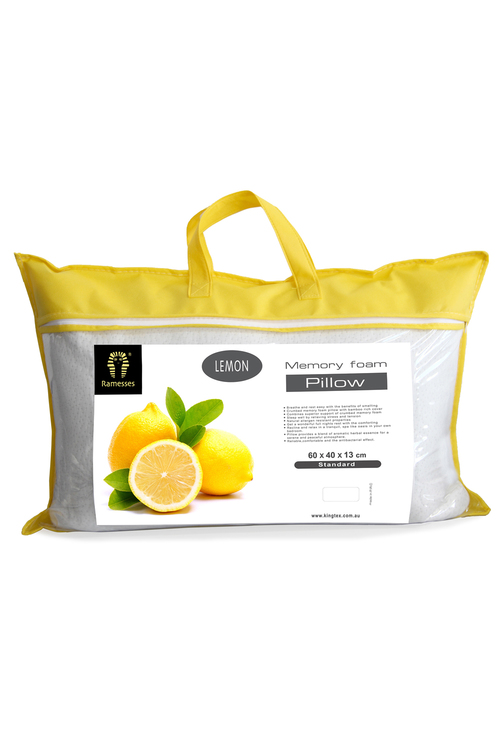 Ramesses Scented Memory Foam Pillow Twin Pack