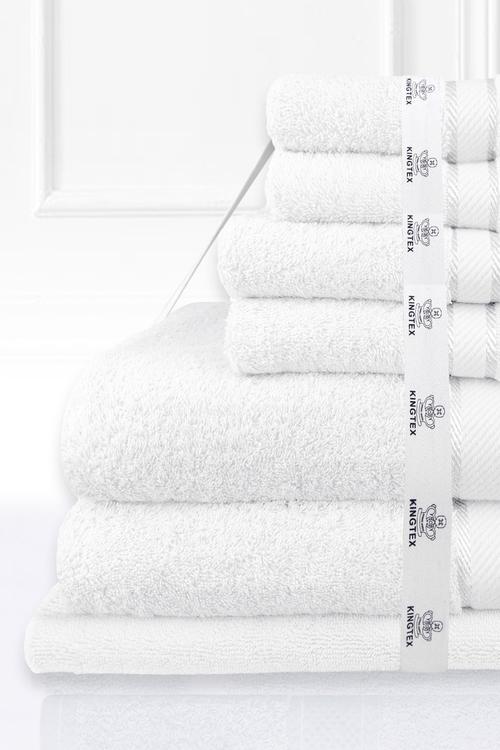 Kingtex 7 Piece Bath Sheet Set
