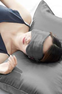 Ramesses Mulberry Silk Cooling Pillowcase and Eye Mask Set - 272114