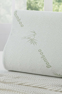 Ramesses Cooling Bamboo Memory Foam Contour Pillow Twin Pack - 272115