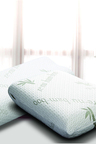 Ramesses Cooling Bamboo Memory Foam Contour Pillow Twin Pack