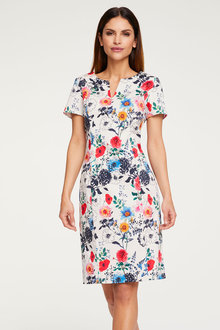 Heine Flowers Print Dress - 272138