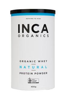 Inca Organics Organic Whey Protein Powder-Natural-400g - 272187