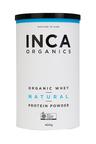 Inca Organics Organic Whey Protein Powder-Natural-400g