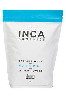 Inca Organics Organic Whey Protein Powder-Natural-1kg - 272197