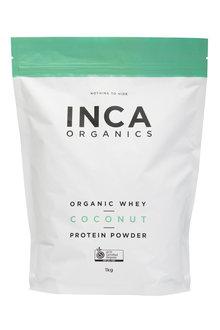 Inca Organics Organic Whey Protein Powder-Coconut-1kg - 272199