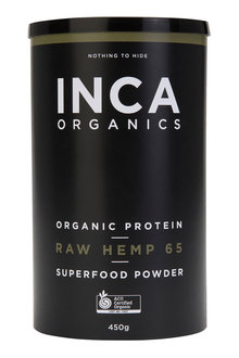 Inca Organics Organic Protein Raw Hemp 65 Superfood Powder-450g - 272200