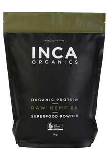 Inca Organics Organic Protein Raw Hemp 65 Superfood Powder-1kg - 272202