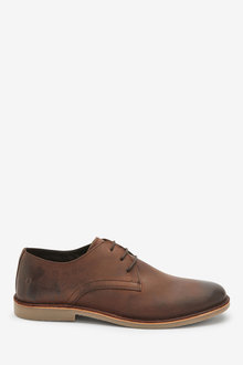 Next Waxy Leather Shoes - 272238