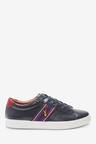 Next Leather Stag Trainers