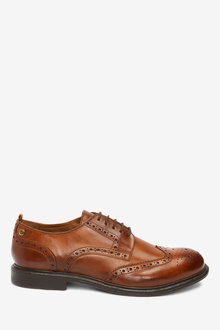 Next Leather Brogue Shoes - 272264