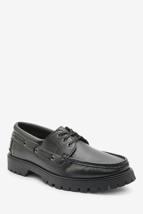Next Formal Boat Shoes